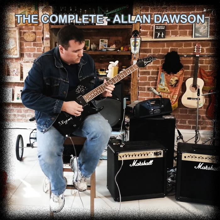 """The Complete Allan Dawson"" Deluxe Edition Digital Mega Album cover art"