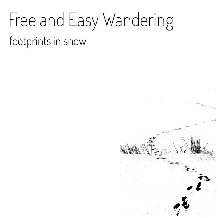 Footprints in Snow cover art