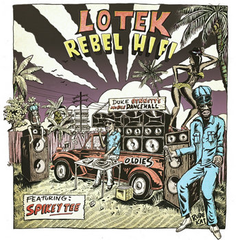Rebel Hifi (Remixes) [feat. Spikey Tee] - EP cover art