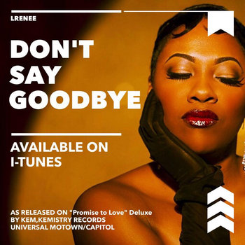 Don't Say Goodbye cover art
