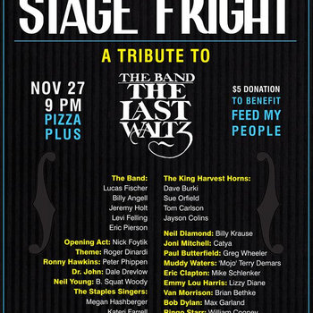 Stage Fright 2013 cover art