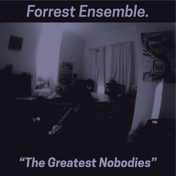 "Nick Forrest Ensemble - ""The Greatest Nobodies"" cover art"