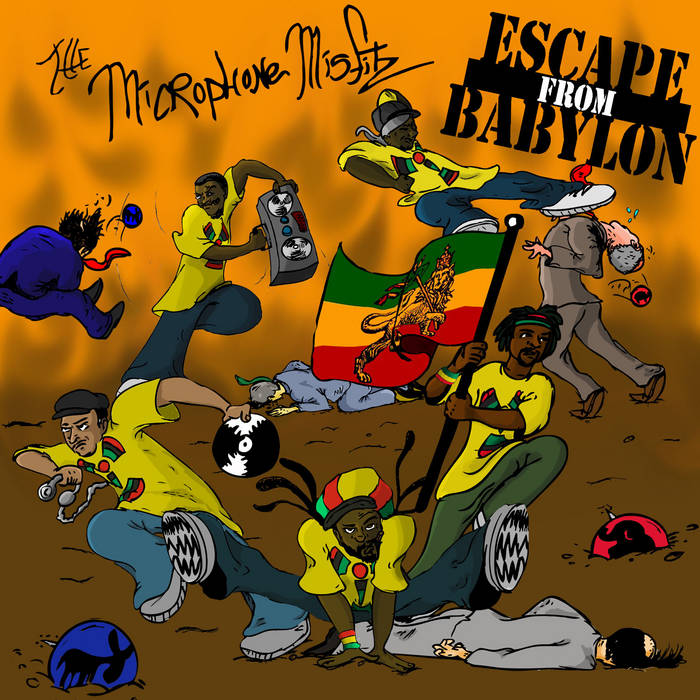 Escape From Babylon cover art