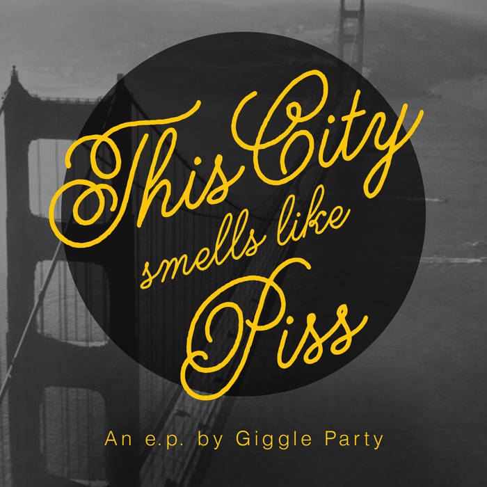 this city smells like piss digital EP cover art