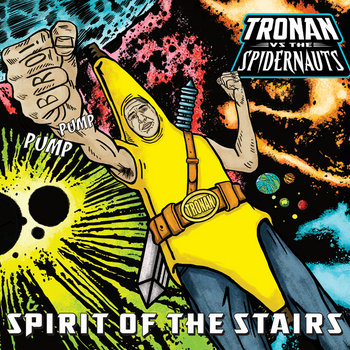 TRONAN vs. THE SPIDERNAUTS cover art