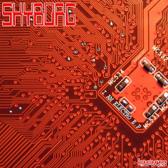 I am Electro e.p. cover art