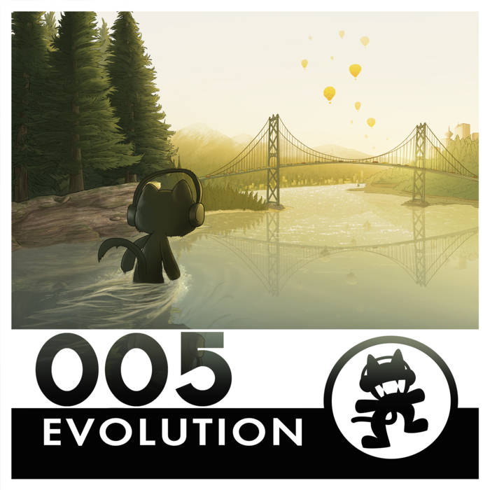 Monstercat 005 - Evolution cover art