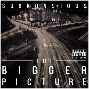 The Bigger Picture LP cover art