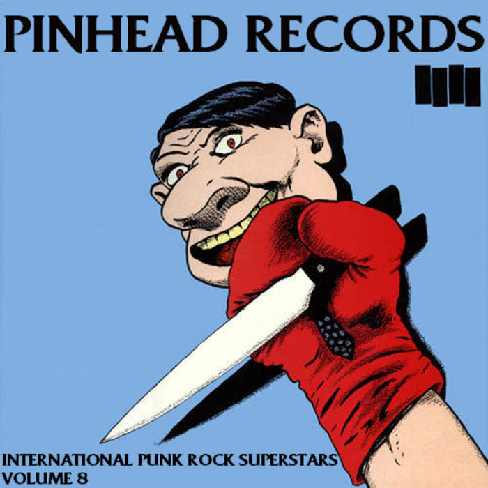 International Punk Rock Superstars Vol. 8 cover art
