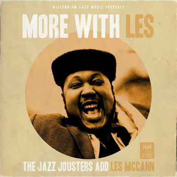 More with Les - The Jazz Jousters add Les McCann cover art