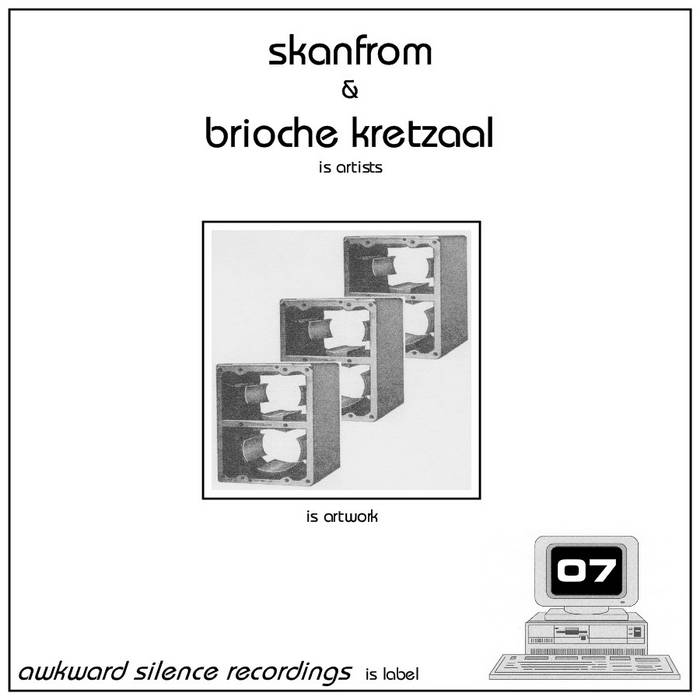 Skanfrom / Brioche Kretzaal - split EP cover art