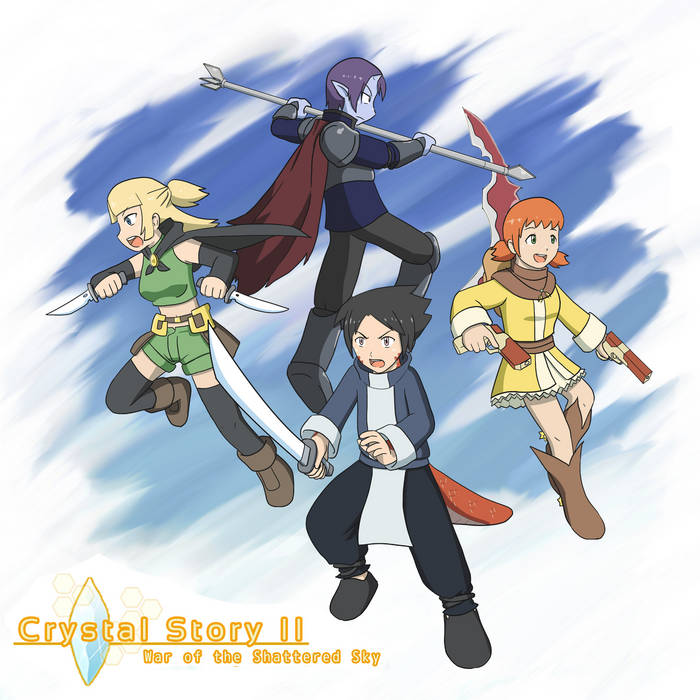 Crystal Story II OST cover art