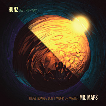 "Hunz/Mr. Maps Split 7"" cover art"