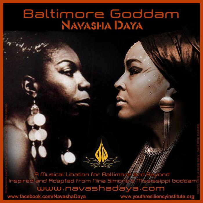 Baltimore Goddam (adapted from Nina Simone's Mississippi Goddam) cover art
