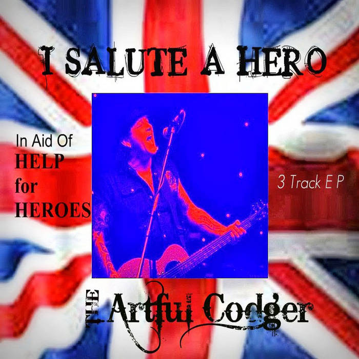I SALUTE A HERO cover art