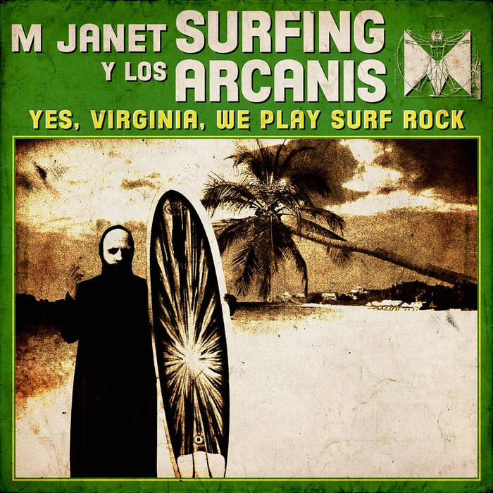 Yes, Virginia, We Play Surf Rock​/​Personnae: Doctor Who cover art