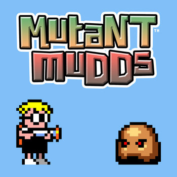 Mutant Mudds OST cover art