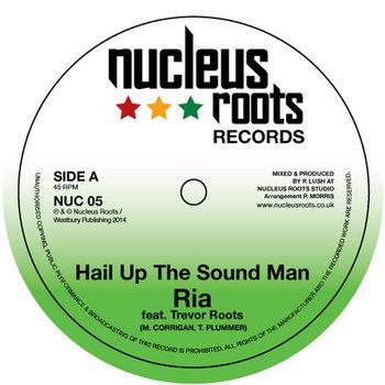 "Hail Up The Sound Man 7"" Vinyl cover art"