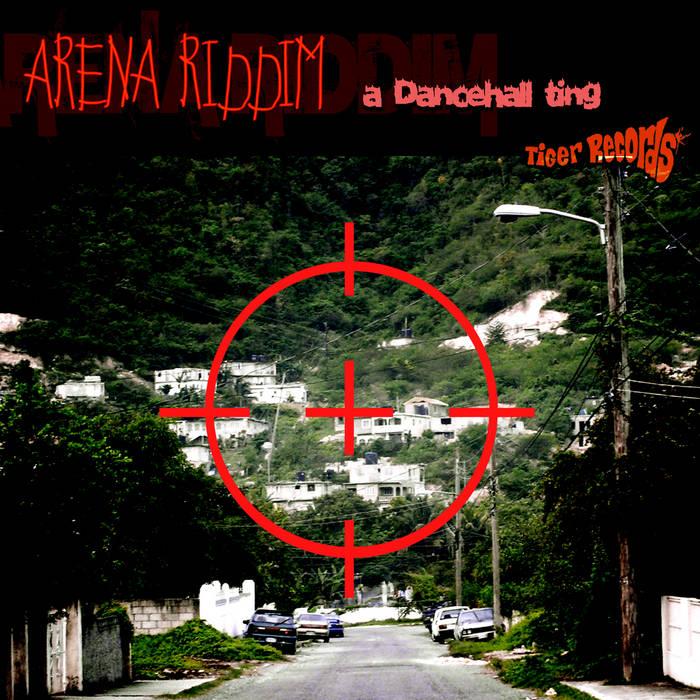 LP - ARENA RIDDIM cover art