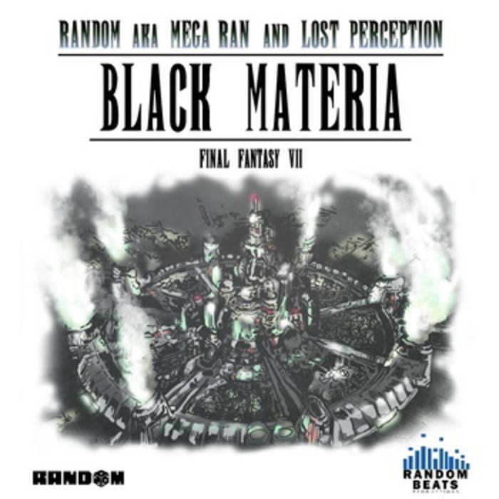 """Black Materia"" Instrumentals cover art"