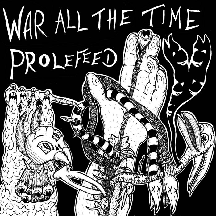 Couple tracks from the War All The Time split cover art