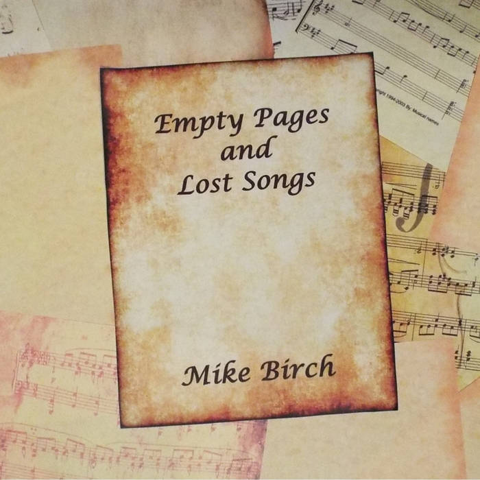 Empty Pages and Lost Songs cover art