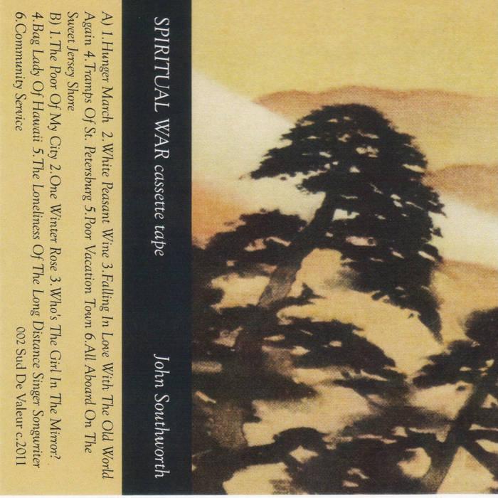 SPIRITUAL WAR cassette tape cover art