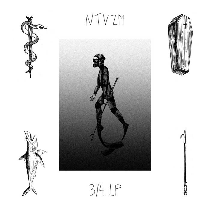 3/4 LP cover art