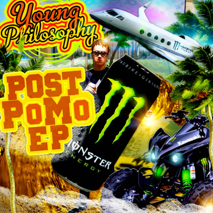 Post-PoMo EP cover art