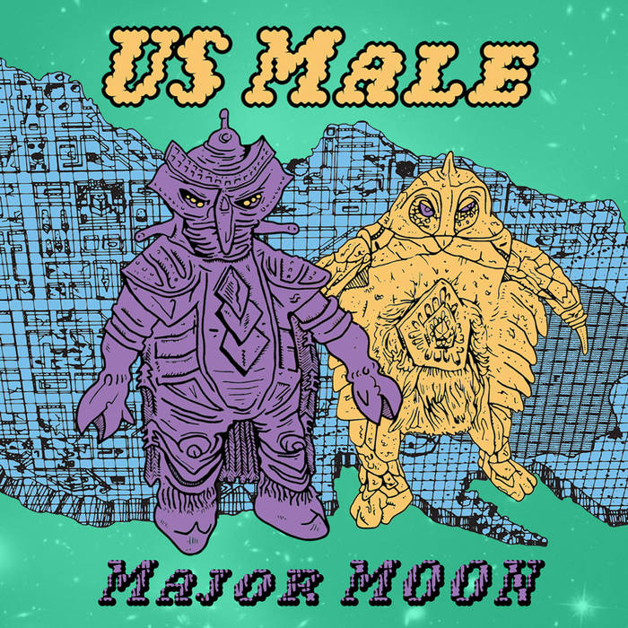 Major Moon EP cover art