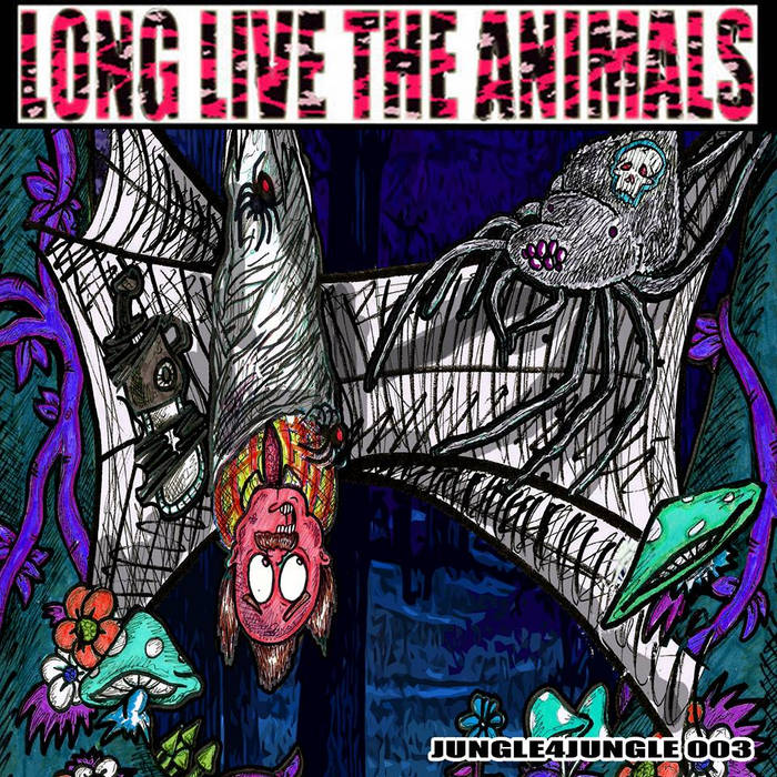 LLTA011 - Various Animals - Jungle4Jungle 003 cover art