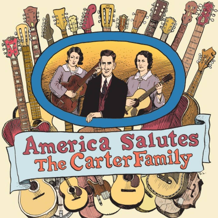 America Salutes The Carter Family cover art