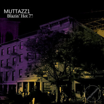 "BLAZING HOT 7"" cover art"