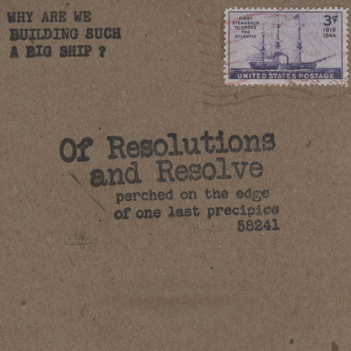 Of Resolutions and Resolve cover art