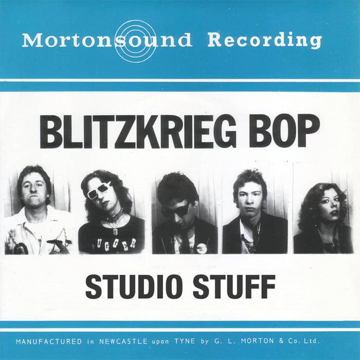 Blitzkrieg Bop - Studio Stuff (LP, WZRV 001) cover art