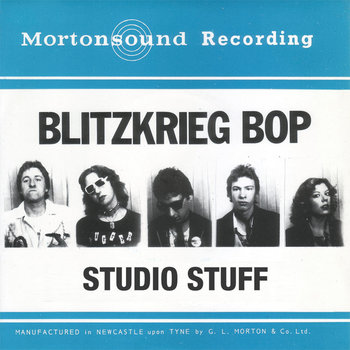Blitzkrieg Bop - Studio Stuff (LP, WZRV 001) cover art