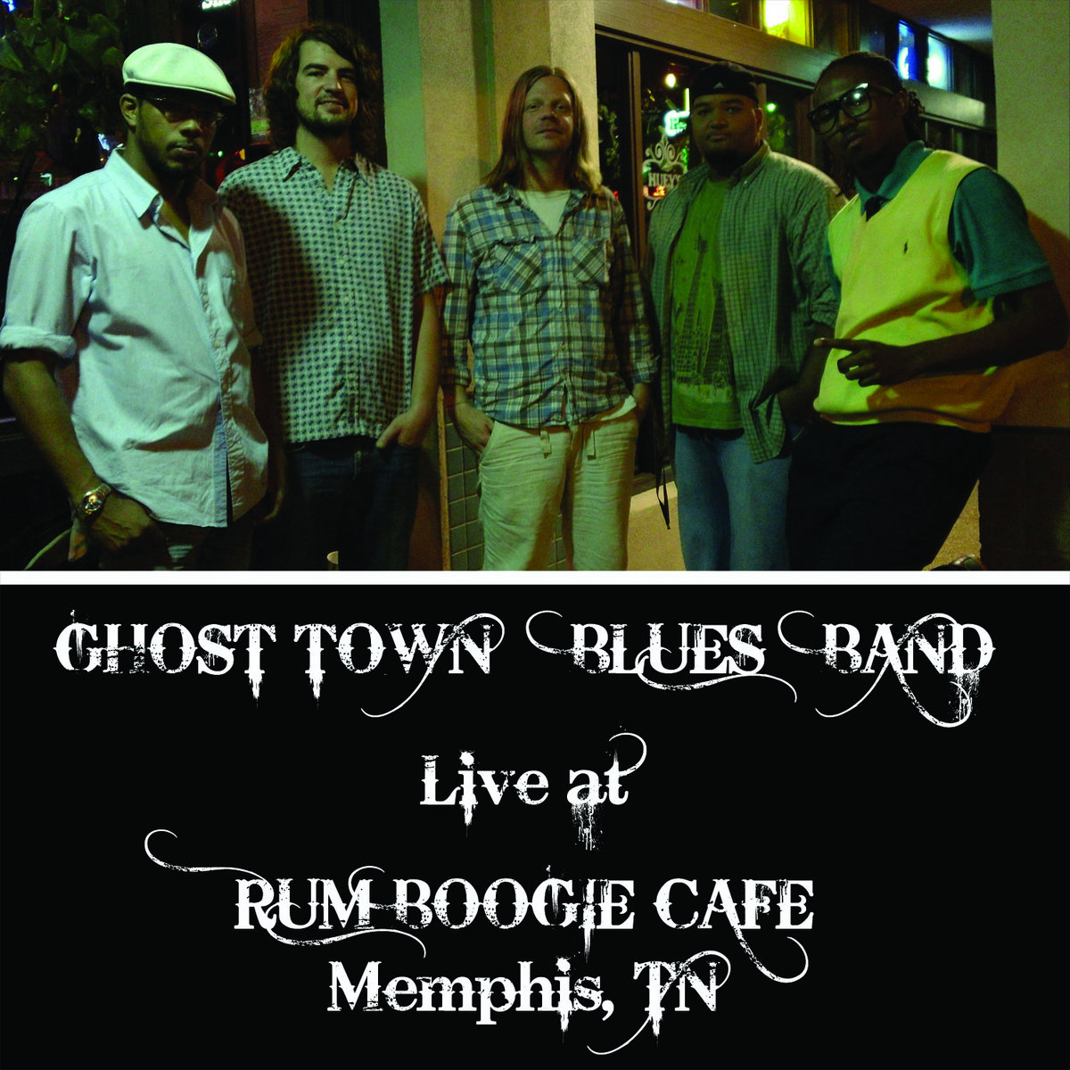 Ghost Town Band Art