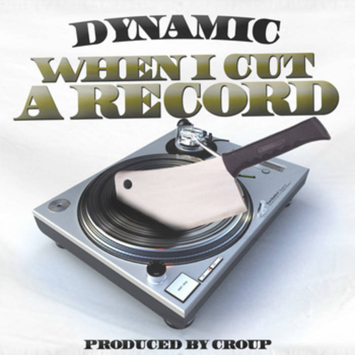 When I Cut A Record (2012) cover art
