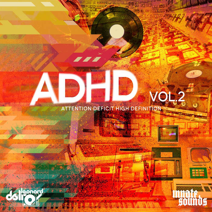 ADHD Vol.2 cover art