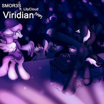 SMOR3S ft. LilyCloud - Viridian (VIP) cover art
