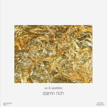 damn rich EP cover art