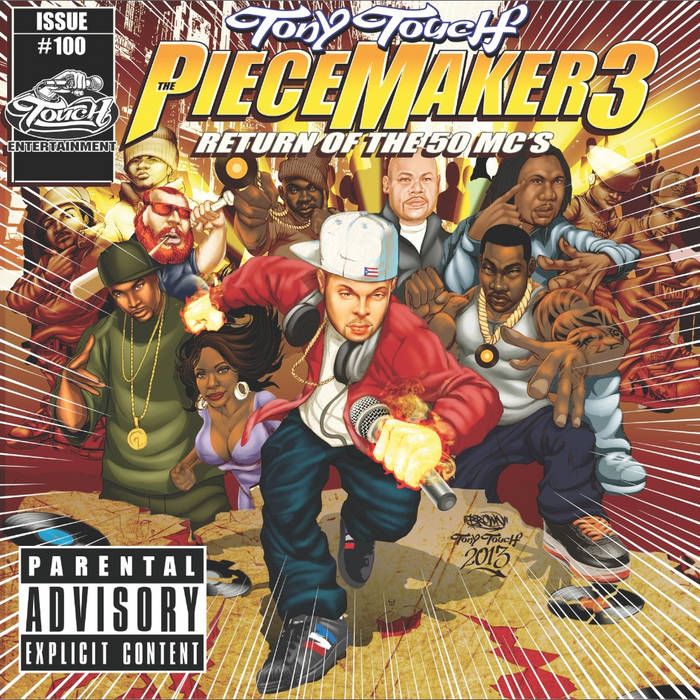 PieceMaker 3... Return of the 50 MCs cover art