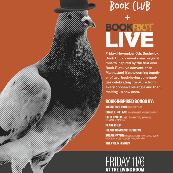 Bushwick Book Club presents Book Riot Live cover art