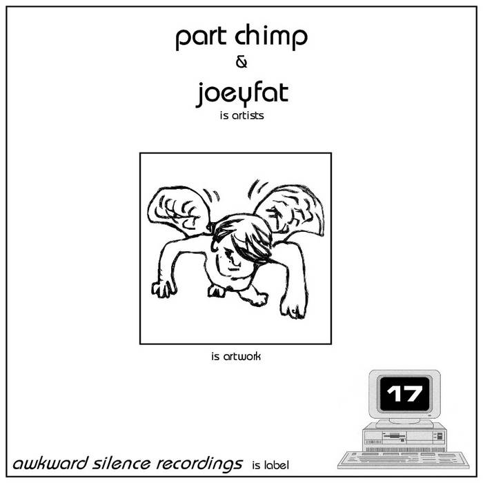 Part Chimp / Joeyfat - split EP cover art