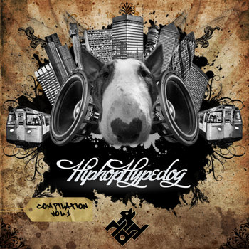 HIP HOP HYPE DOG COMPILATION - VOL. 1 cover art