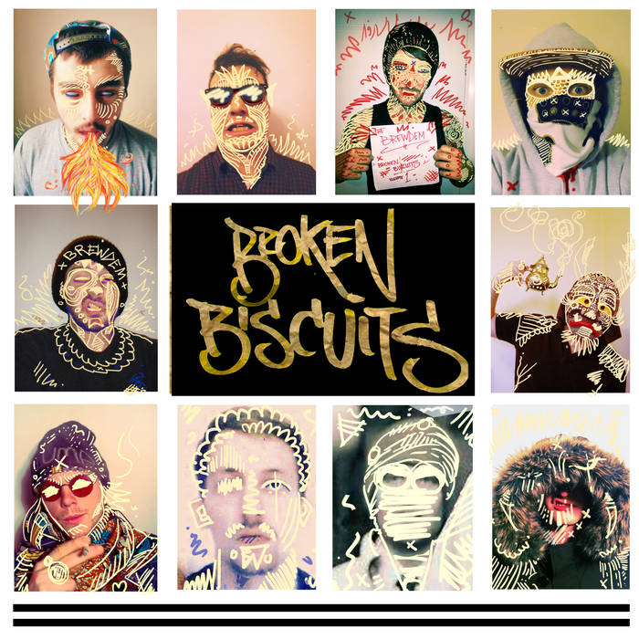 Broken Biscuits Vol. 1 (Mixed by The Assembly Worker) cover art