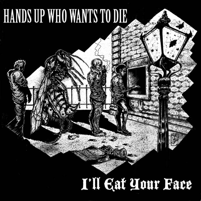 "Split 10"" with I'll Eat Your Face cover art"