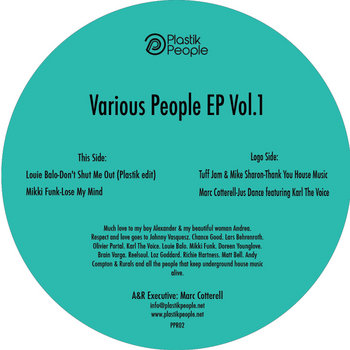 Various People EP Vol.1 cover art