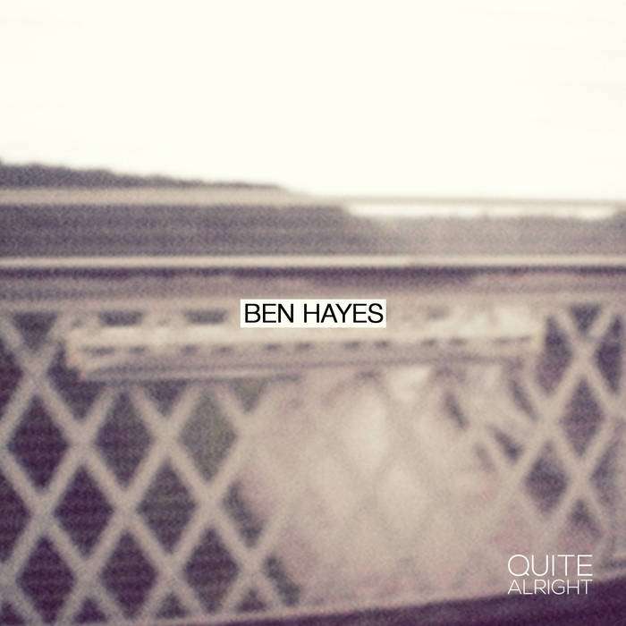 Ben Hayes - EP cover art