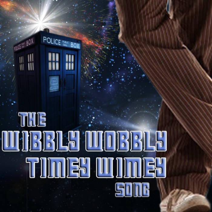 Wibbly Wobbly, Timey Wimey cover art